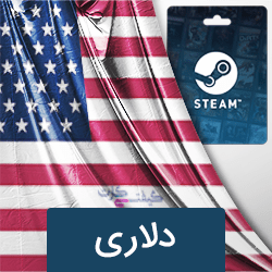 گیفت کارت steam wallet دلاری