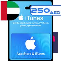 گیفت کارت اپل 250 درهمی امارات