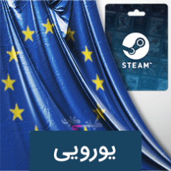 گیفت کارت steam wallet یورویی