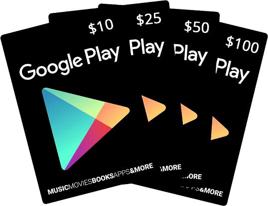 استفاده از گیفت کارت گوگل پلی برای خرید از فروشگاه گوگل پلی