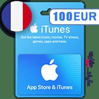 گیفت کارت اپل 100 یورو فرانسه