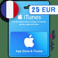 گیفت کارت اپل 25 یورو فرانسه