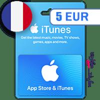 گیفت کارت اپل 5 یورو فرانسه