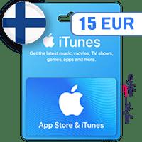 گیفت کارت اپل 15 یورو فلاند