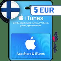 گیفت کارت اپل 5 یورو فلاند