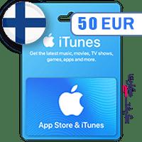گیفت کارت اپل 50 یورو فلاند