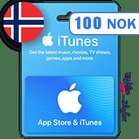 گیفت کارت اپل 100 کرون نروژ