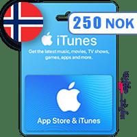 گیفت کارت اپل 250 کرون نروژ