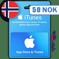 گیفت کارت اپل 50 کرون نروژ