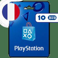 گیفت کارت پلی استیشن 10 یورو فرانسه