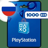 گیفت کارت پلی استیشن 1000 روبل روسیه