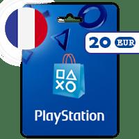 گیفت کارت پلی استیشن 20 یورو فرانسه