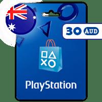 گیفت کارت پلی استیشن 30 دلار استرالیا