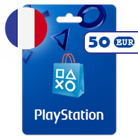 گیفت کارت پلی استیشن 50 یورو فرانسه