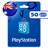 گیفت کارت پلی استیشن 50 دلار استرالیا