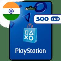 گیفت کارت پلی استیشن 500 روپیه هند