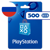 گیفت کارت پلی استیشن 500 روبل روسیه