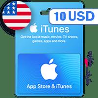 گیفت کارت اپل 10 دلار آمریکا