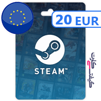 گیفت کارت استیم 20 یورویی