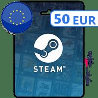 گیفت کارت استیم 50 یورویی