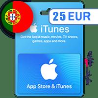 گیفت کارت اپل 25 یورو پرتغال