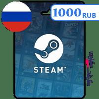گیفت کارت استیم 1000 روبل روسیه